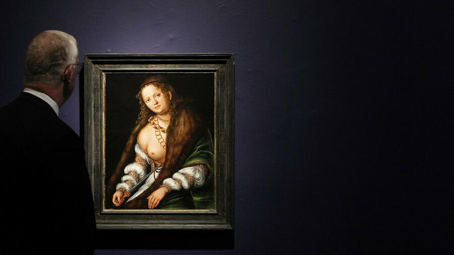 "Lucas Cranachs ""Lucretia"" bei einer Auktion in New York. Quelle: Reuters"