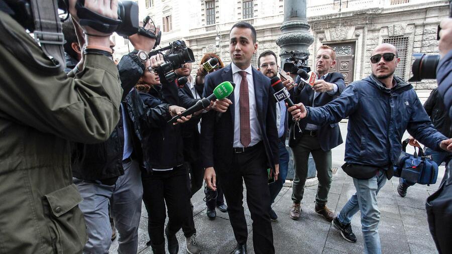 Entwurf: Fünf Sterne und Lega wollen EZB um Schuldenerlass bitten