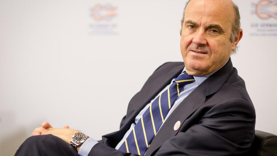 Ezb Spanischer Wirtschaftsminister Guindos Wird Vizeprasident