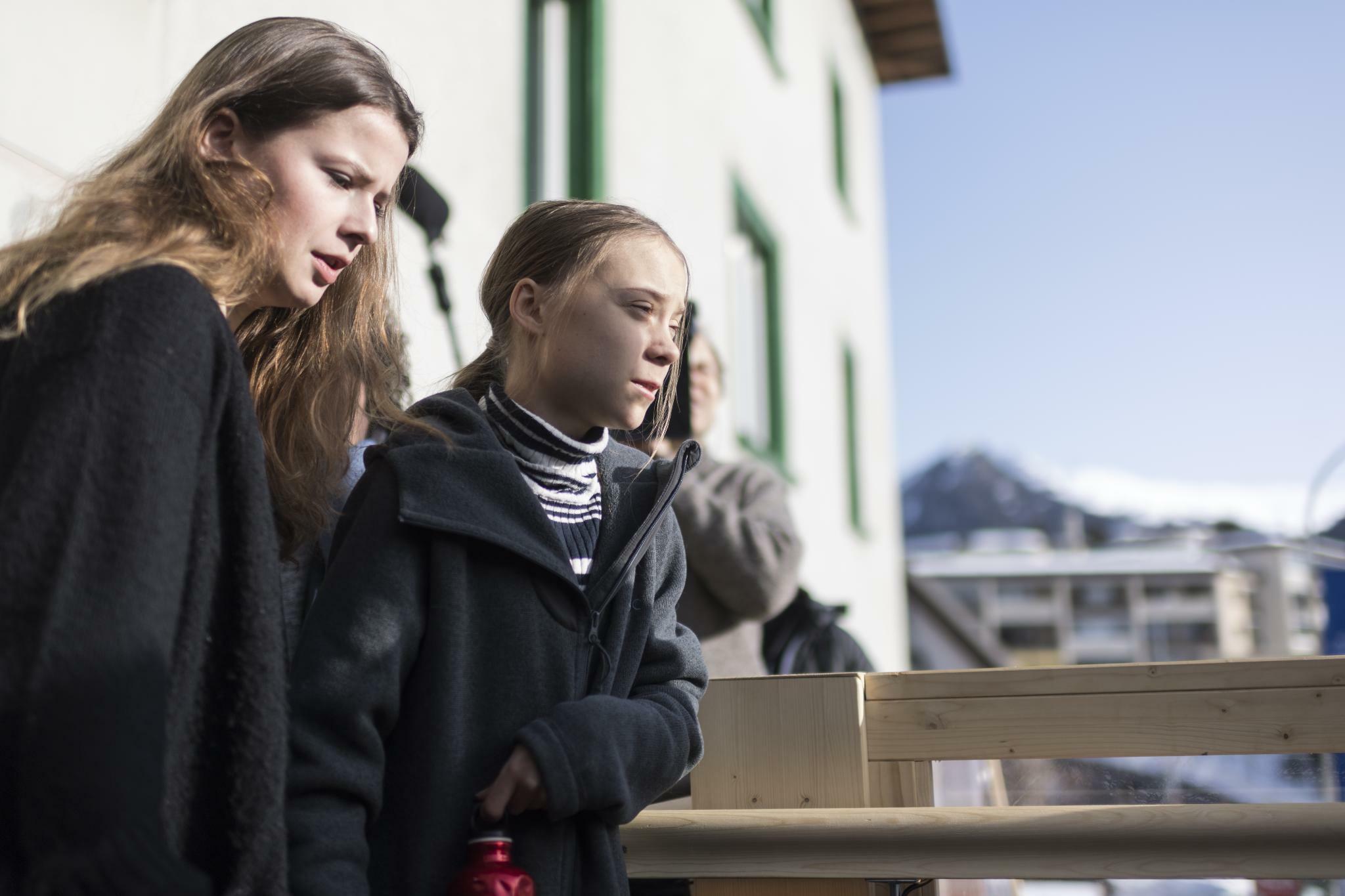 """Greta in Davos: """"Unsere Forderungen wurden komplett ignoriert."""""""