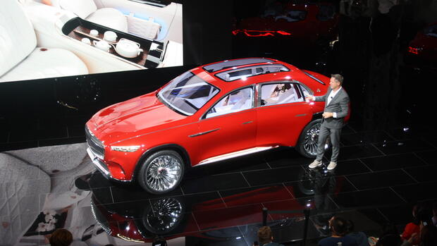 Mercedes-Maybach Ultimate Luxury: So sieht das Luxus-SUV von Maybach aus