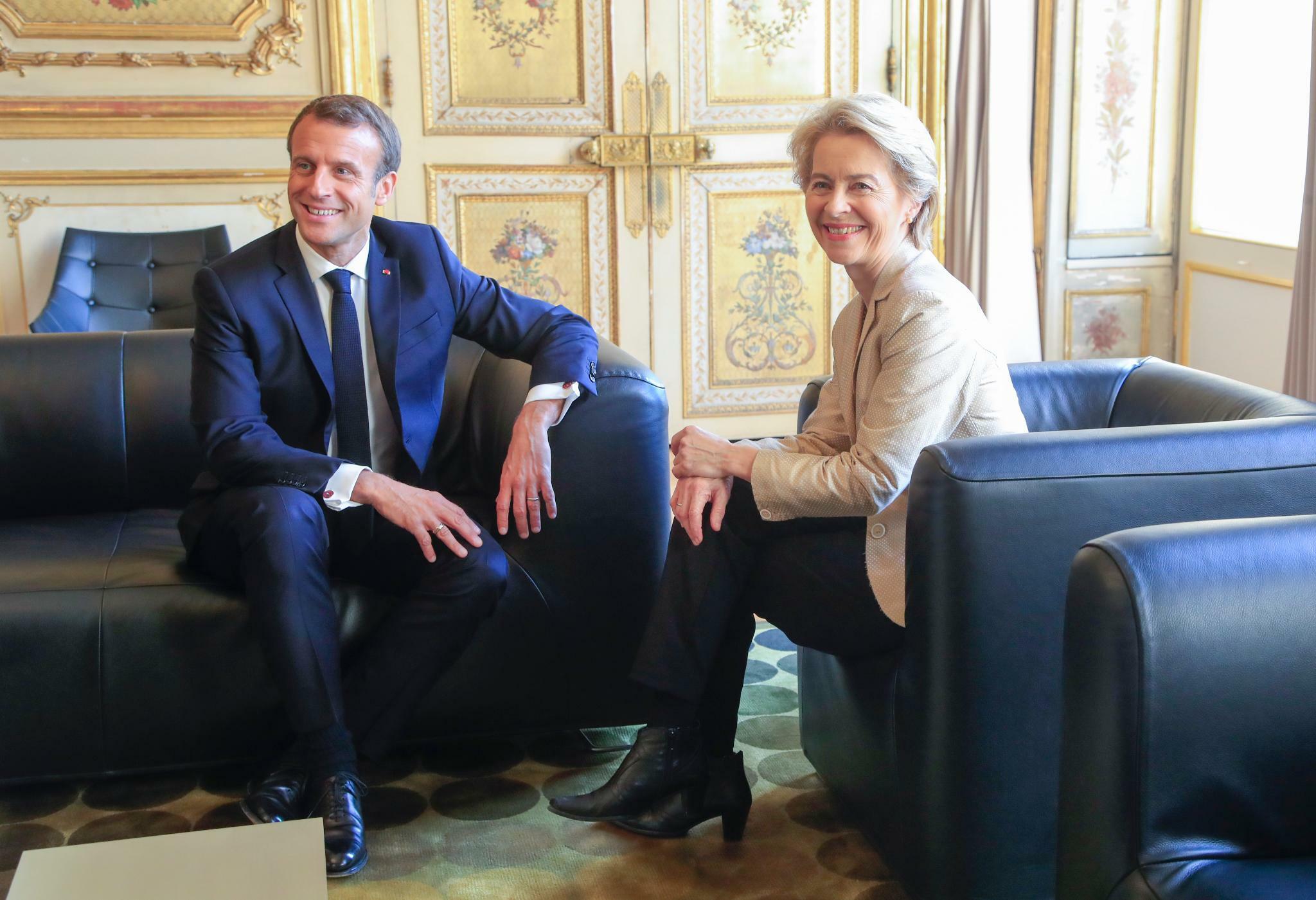Macron empfängt von der Leyen nach Kommissarsdebakel