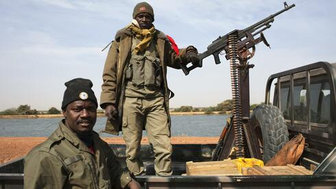 Soldaten in Mali. Quelle: Reuters