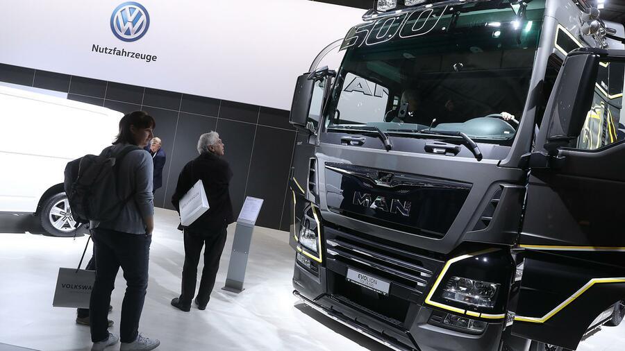 VW könnte noch mehr Traton-Anteile abgeben