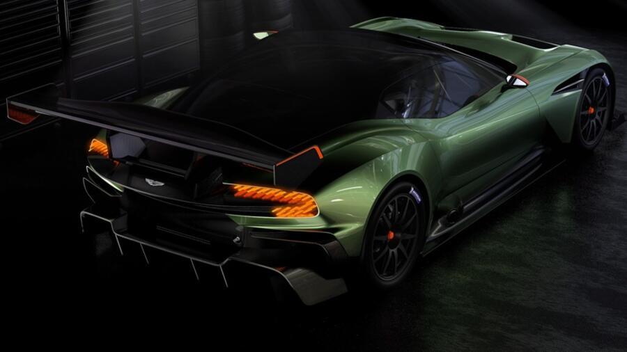 Aston Martin Vulcan Zwei Dutzend Ohne Zulassung