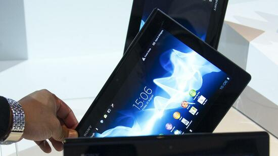 Sony-Tablet Xperia Quelle: Reuters