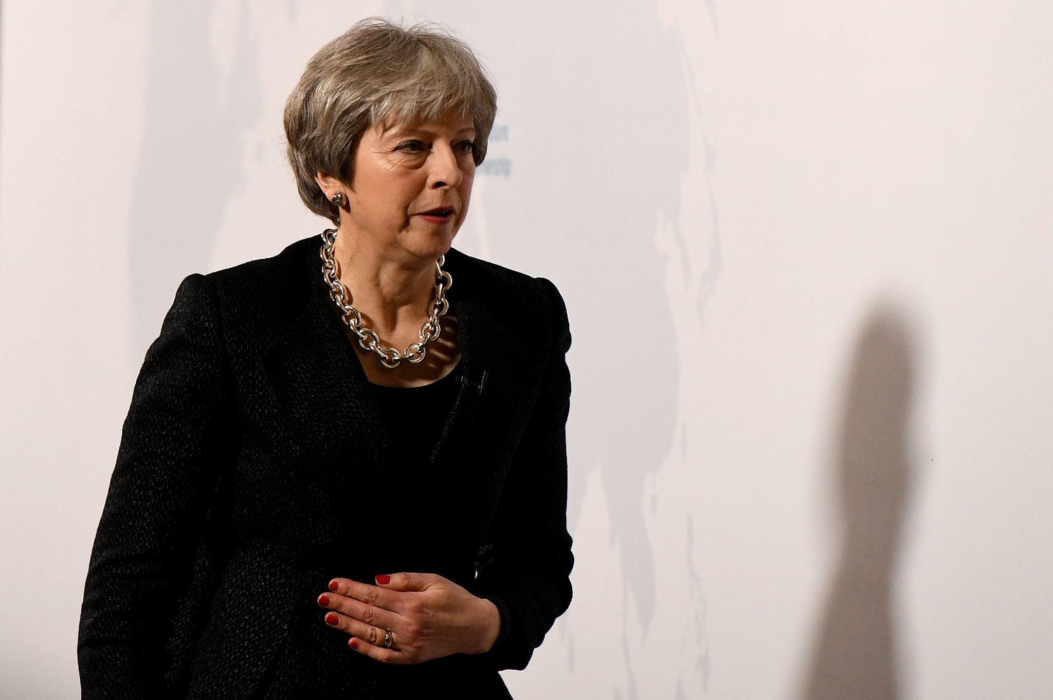 Brexit Rede May Gibt Erstmals Brexit Nachteile Zu Will Eu