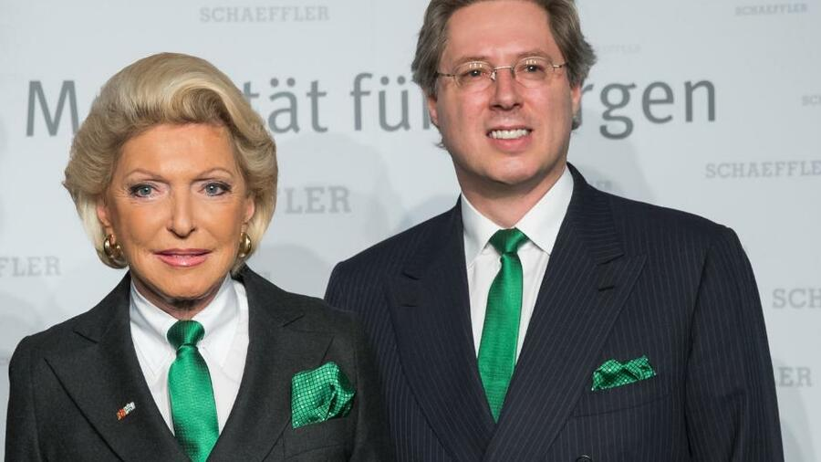 Milliardärsfamilie Schaeffler reduziert Schulden weiter
