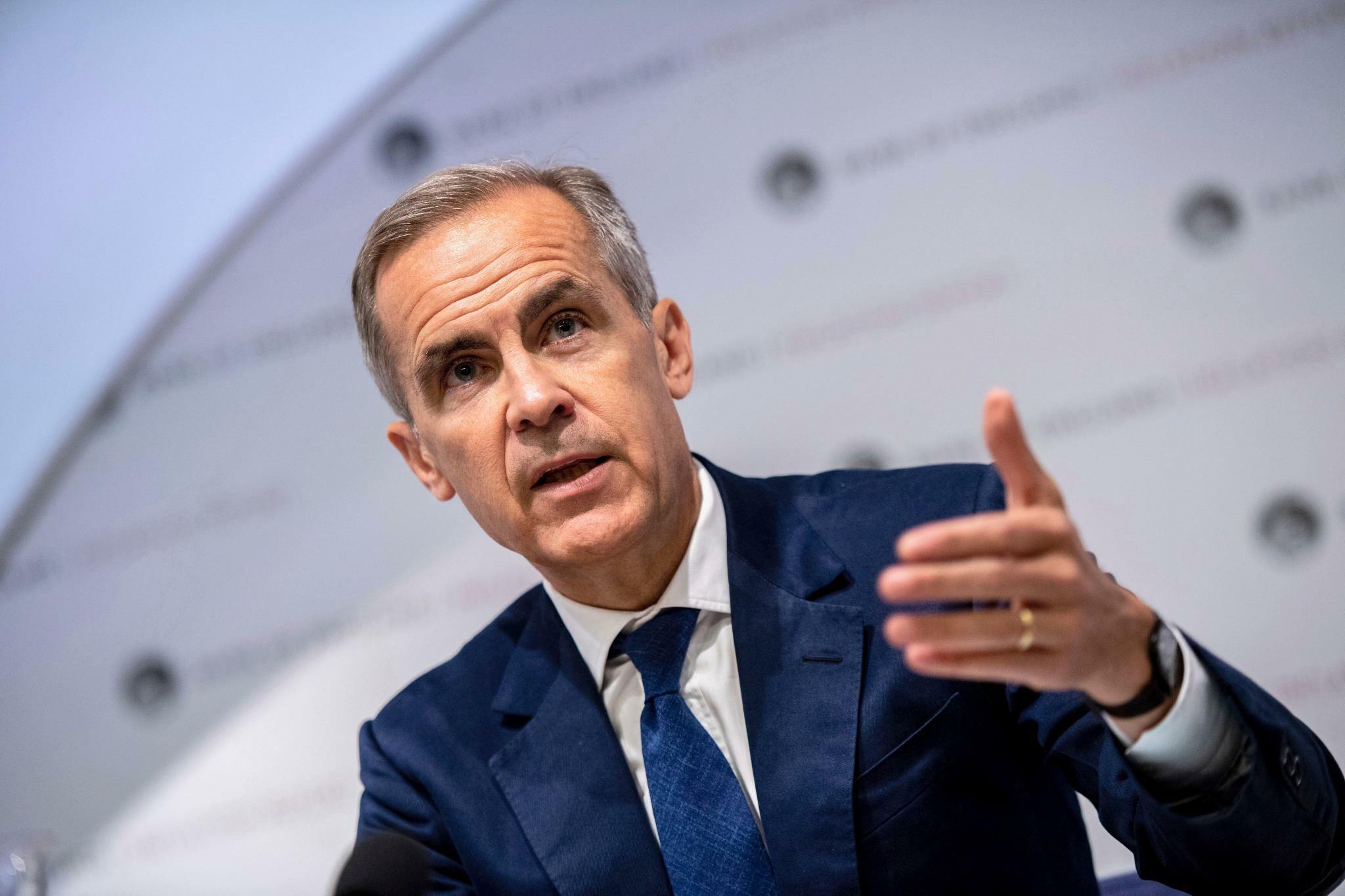 Carney: Großbritanniens Wirtschaft stagniert dritten Quartal