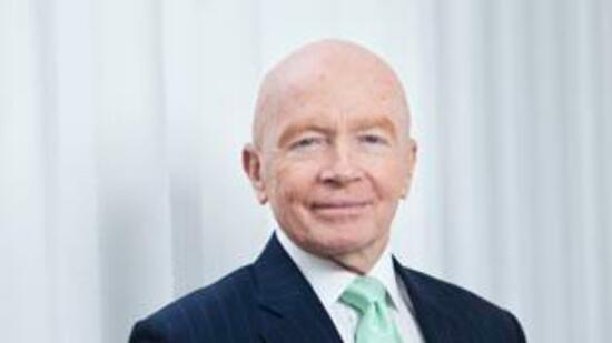 Mark Mobius, Vorsitzender der Templeton Emerging Markets Gruppe bei Franklin Templeton Investments.
