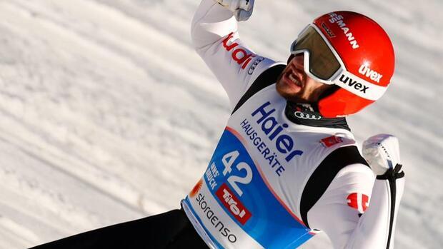 Skispringen: Weltmeister Eisenbichler bei Teamwettbewerb Schlussmann