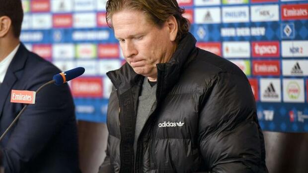 Fußball: Hamburger SVtrennt sich von Trainer Gisdol