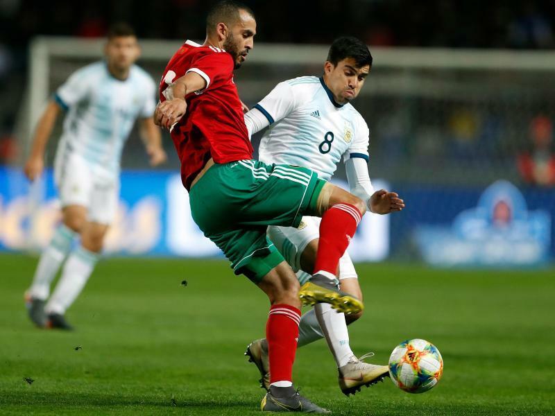 Argentinien gewinnt ohne verletzten Messi in Marokko