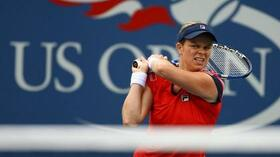 Marschiert in Flushing Meadows: Kim Clijsters. Foto: Bongarts/Getty Images Quelle: SID