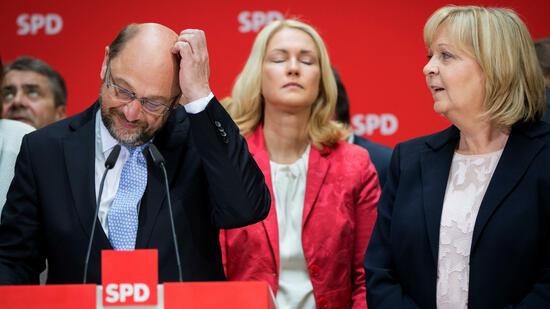 SPD und Schulz rutschen weiter ins Umfragetief