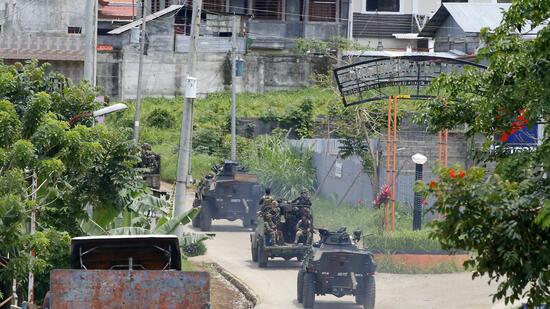 Gefechte in Marawi : Kämpfe auf den Philippinen töten Zivilisten