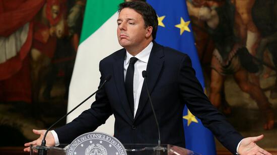 Schicksalstag für italiensche Regierung bei Verfassungsreferendum