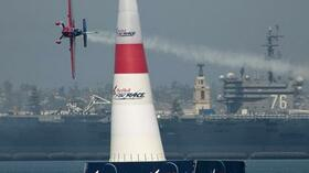 Matthias Dolderer beim Training in San Diego. Foto: Tom Lovelock/Red Bull Air Race via AP Images Quelle: SID