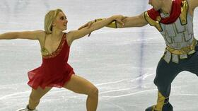 Maylin Hausch und Daniel Wende. Foto: SID Images/AFP/Vincenzo Pinto Quelle: SID
