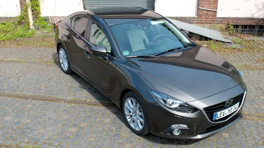 testwagen mazda 3 stufenheck der dynamische all inclusive herausforderer. Black Bedroom Furniture Sets. Home Design Ideas