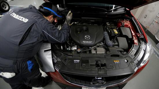 Mazda: Benzin-Diesel-Zwittermotor ein Viertel effizienter