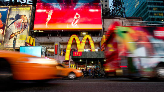 McDonald's am Times Square, New York