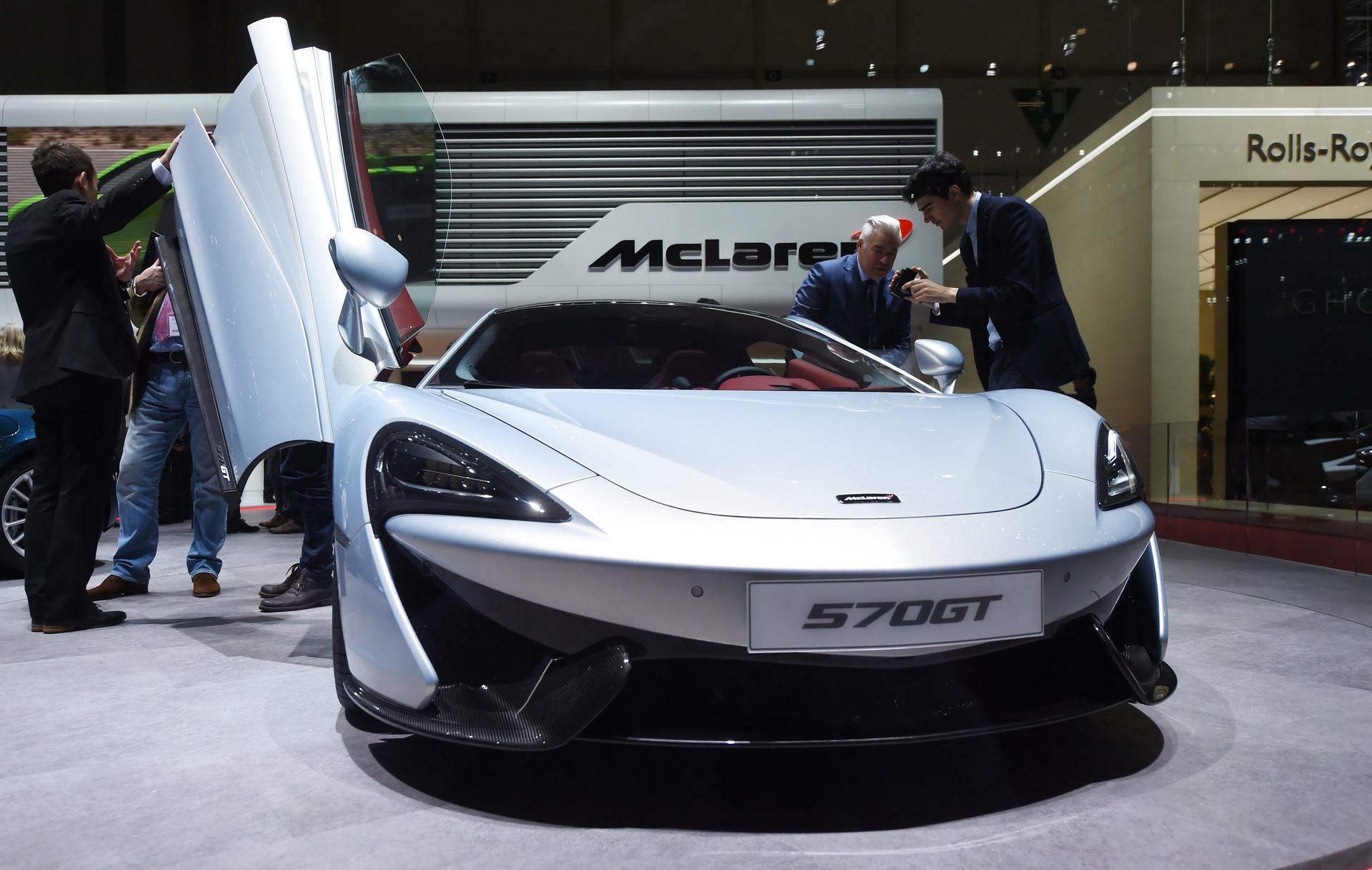 McLaren : Rennwagen-Schmiede dementiert Gespräche mit Apple