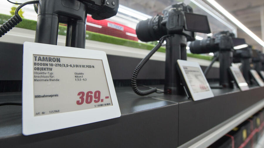 Auto Kühlschrank Media Markt : Media markt und co.: digitale preisschilder setzen sich durch