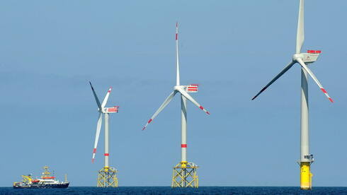 Windpark vor borkum alpha