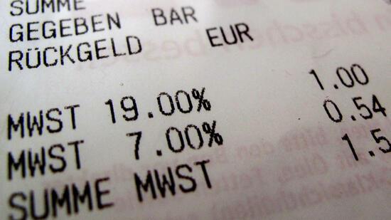 Wirtschaftsforscher für niedrigere Mehrwertsteuer