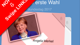 Wahl-o-Mat-Alternative im Test: Im Tinder-Style zur Traumpartei