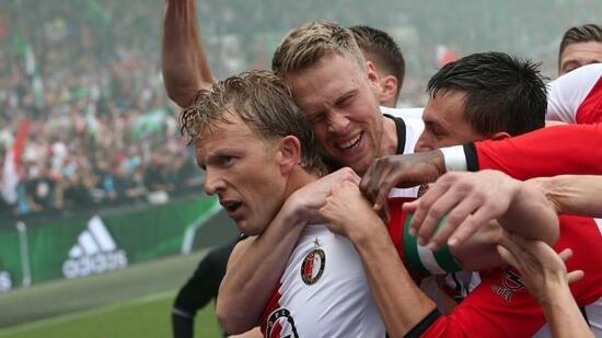 Feyenoord erstmals seit 1999 wieder top