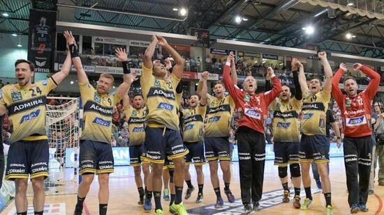 Deutscher Handball-Meister: Spontanparty bei den Rhein-Neckar Löwen