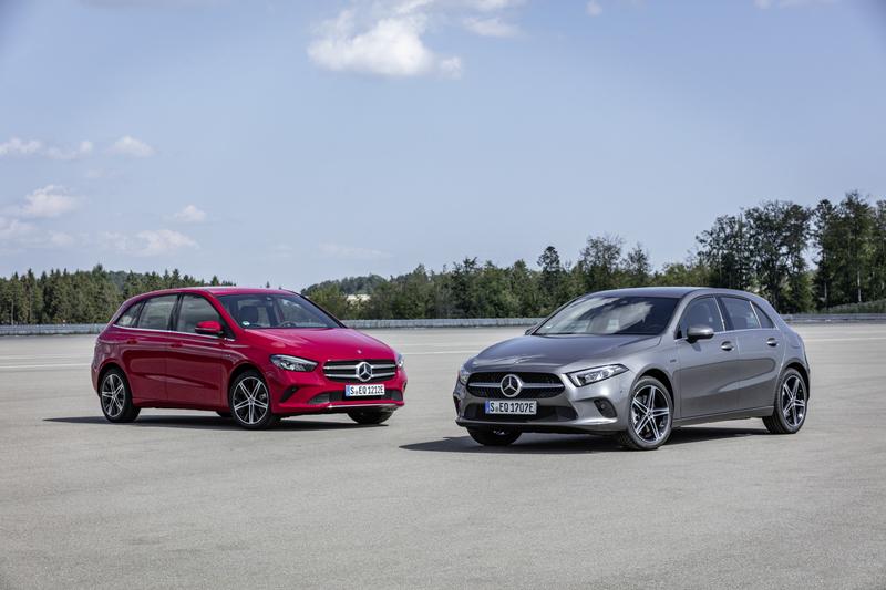 A-Klasse und B-Klasse: Mercedes-Benz elektrisiert die Kompakten