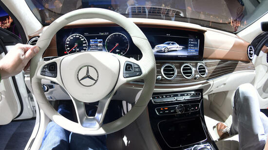 Mercedes-Benz-Cockpit