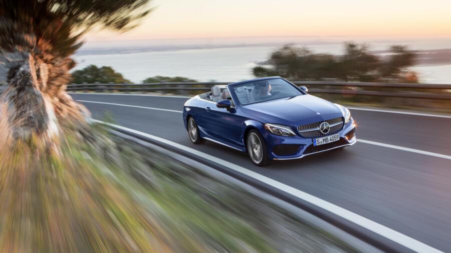 Mercedes C Klasse Cabrio 250 D Für Spontane Sommer Geeignet