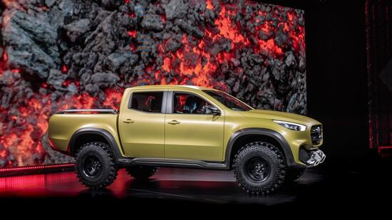 Mercedes Pick-up X-Klasse - Aller Laster Anfang  Quelle: Mercedes-Benz