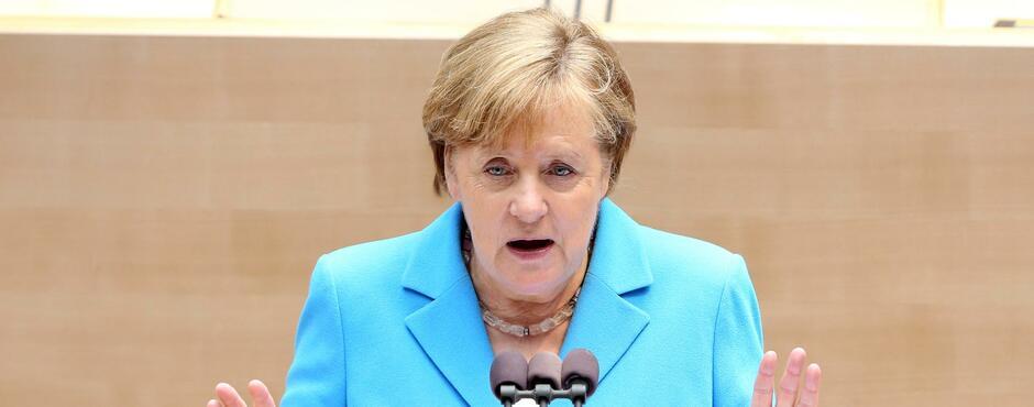 Deutsche Post Merkels Unterstützung Hat System