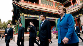 Merkel in China: In heikler Mission