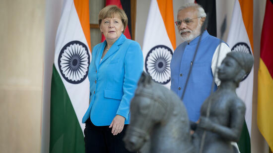 Indien: Modi wirbt in Berlin um deutsche Investitionen