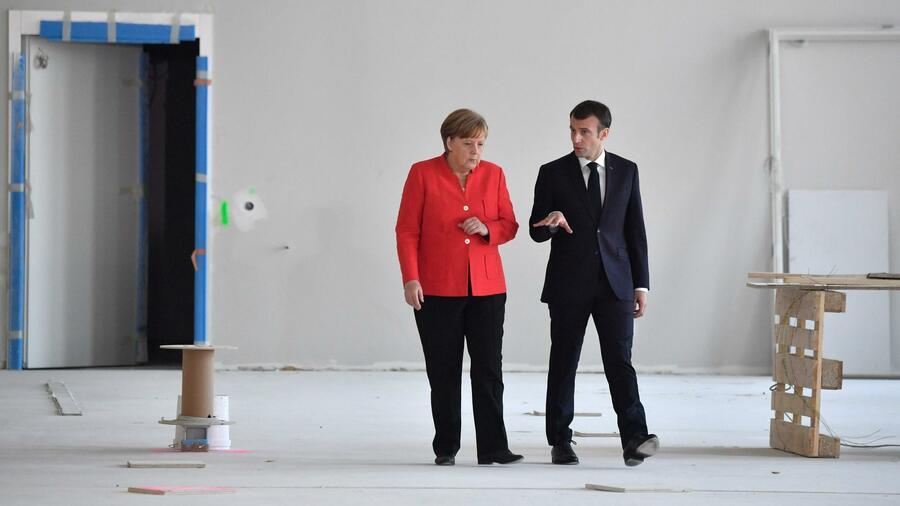 Angela Merkel und US-Präsidenten in Bildern