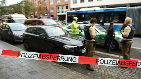 Messer-Attacke in München: Polizei gibt neue Infos zum Täter bekannt