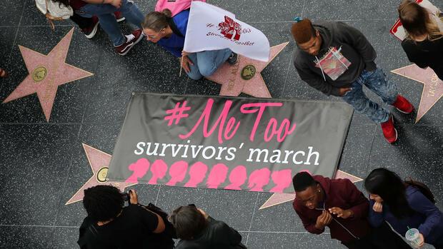 Hollywood: Proteste gegen sexuelle Belästigung