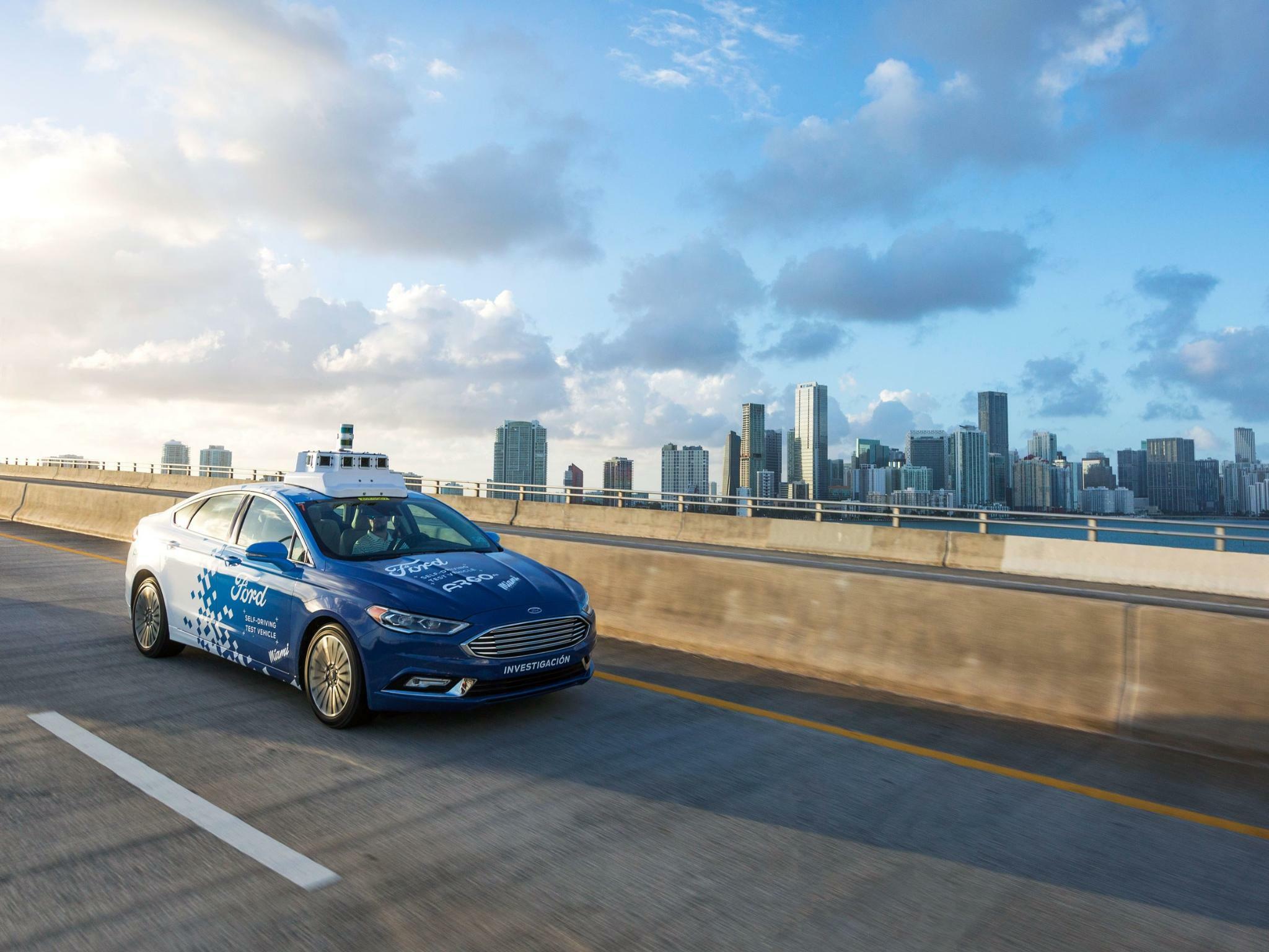 Ford: Innovativstes Unternehmen im Bereich Autonomes Fahren