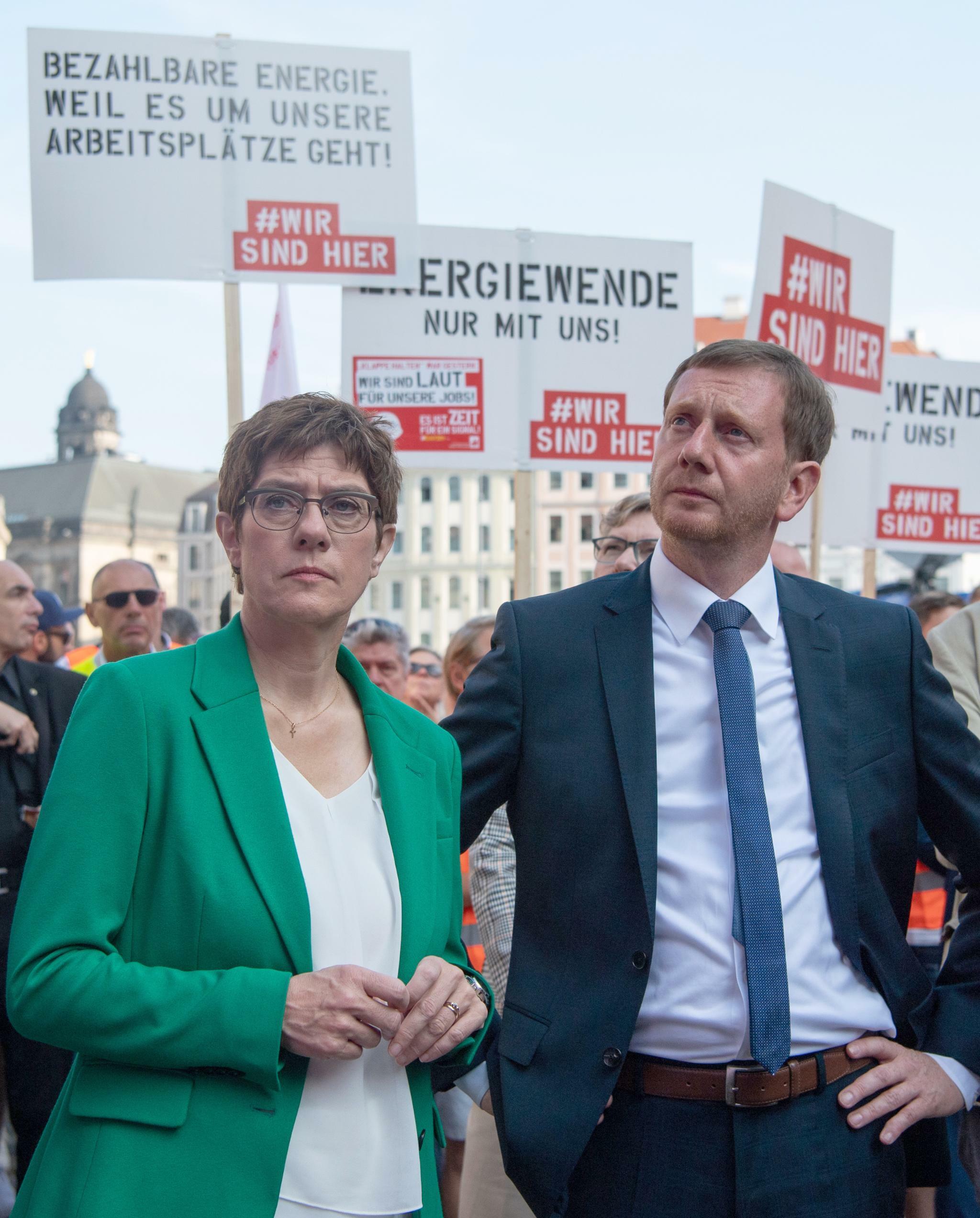 CDU: Michael Kretschmer fordert klares Wirtschaftsprofil