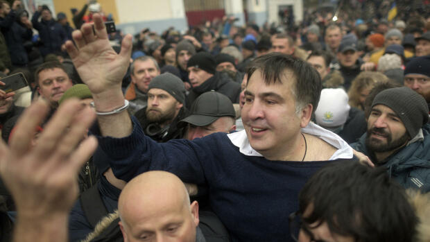 Saakaschwili vs. Poroschenko: Partnerkrieg in Kiew