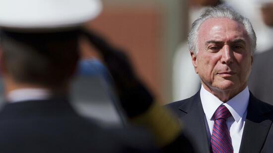 Urteil in Brasília: Präsident Temer vorerst gerettet
