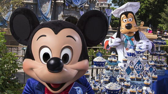 60 Jahre Disneyland: Mega-Party bei Mickey Mouse