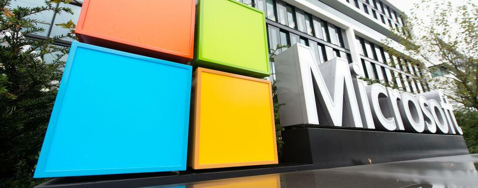 Gewinnsprung: Die Cloud trägt Microsoft auf neue Höhen