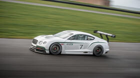 Continental GT3: Bentley plant Motorsport-Comeback